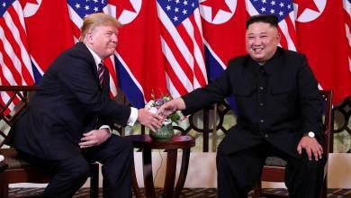 رئيس كوريا الشمالية كيم جونغ والرئيس الأميركي دونالد ترامب