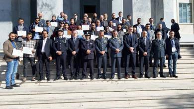 Photo of 22 متدربا ينهون دورة تدريبية أمنية في إيطاليا