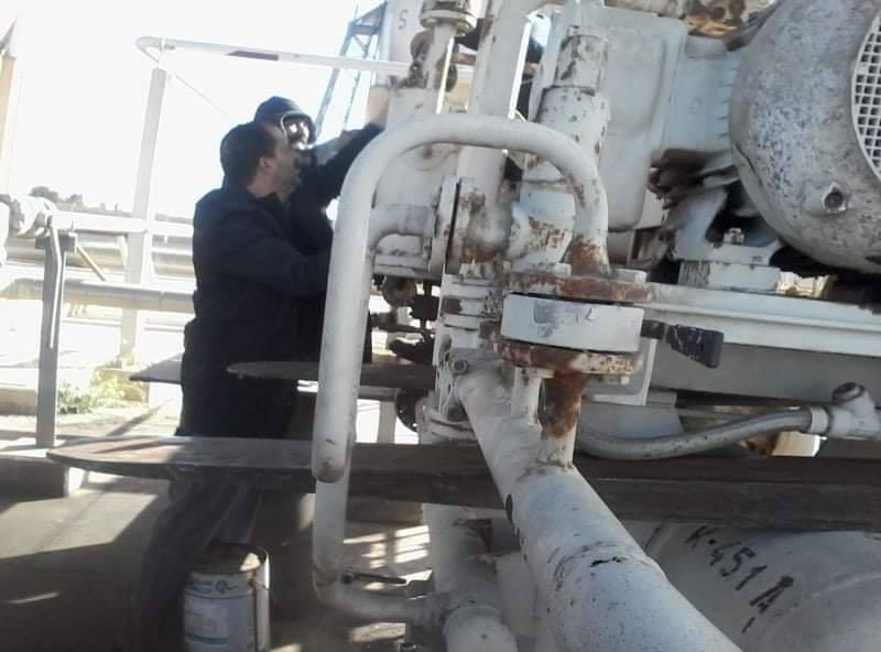 مستودع الزاوية النفطي