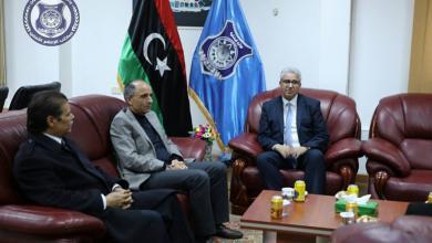 فتحي باشاغا مع عضو مجلس النواب عن مدينة نالوت سالم قنان