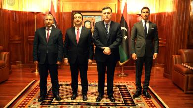 صورة قبول أوراق 3 سفراء في ليبيا