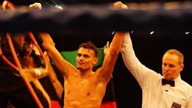 الملاكم الليبي مالك الزناد