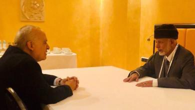 """صورة """"سلامة"""" يلتقي وزير خارجية """"عمان"""" في ميونخ"""
