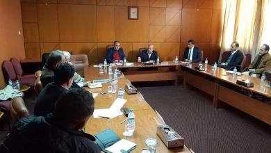 اجتماع شركة الجوف للتقنية النفطية مع إدارة شركة عبر الصحراء للخدمات النفطية - بنغازي