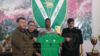 اللاعب الكيني المهاجم جمعة مسعود