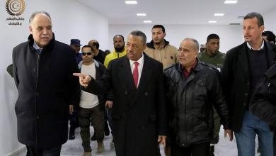"""Photo of """"الثني"""" يزور مقر """"الأمن الداخلي"""" في بنغازي"""
