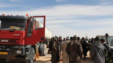 ضبط 4 شاحنات وقود في الكفرة كانت في الطريق لدعم المعارضة التشادية