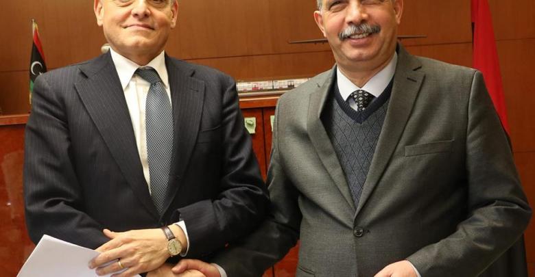 """السفير الإيطالي الجديد في ليبيا """"جوزيبي بوتشينو"""""""