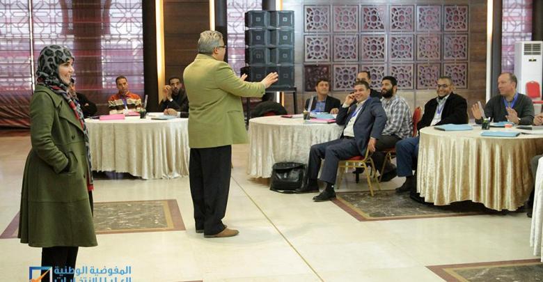 """مفوضية الانتخابات تنظم دورة """"TOT"""" في طرابلس"""