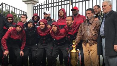 Photo of جمهور نجوم صرمان يستقبلون أبطال الكرة المصغرة