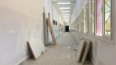 صورة صيانة شاملة لمعظم مدارس خليج السدرة