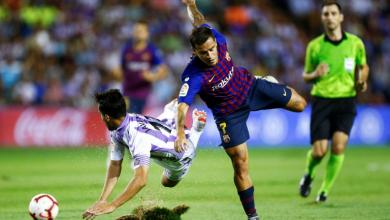 "Photo of ""برشلونة"" يفوز بشق الأنفس على ""بلد الوليد"""