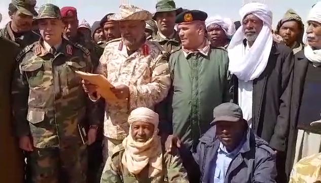 آمر جهاز حرس المنشآت النفطية التابع للقيادة العامة اللواء ناجي المغربي