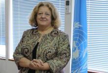 منسقة الأمم المتحدة للشؤون الإنسانية في ليبيا ماريا ريبيرو