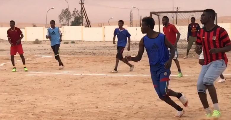 اختتام الدوري التنشيطي في كرة القدم الخماسية - قبرعون