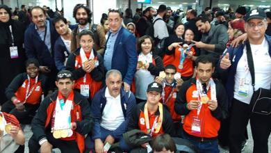 """Photo of وصول أبطال """"الأولمبياد الخاص"""" إلى طرابلس"""