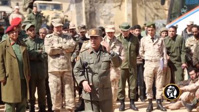 اللواء علي القطعاني آمر اللواء 73 مشاة