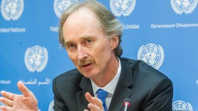 المبعوث الأممي دمشق جير بيدرسن