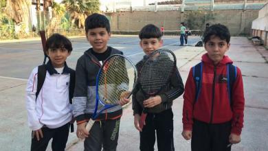 بطولة كرة المضرب - بنغازي