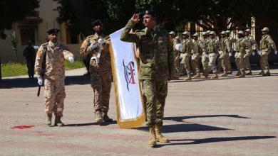صورة تخريج دفعة قوات خاصة تابعة للجيش الليبي