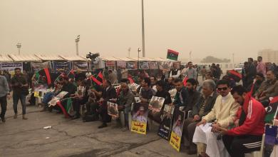 تظاهرات داعمة ومؤيدة للجيش الوطني في بنغازي