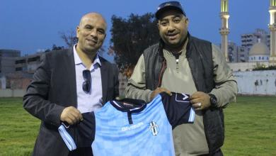 صورة القابسي مدربا لفريق الملعب الليبي