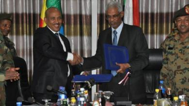 صورة تعاون عسكري سوداني إثيوبي لوقف الجريمة