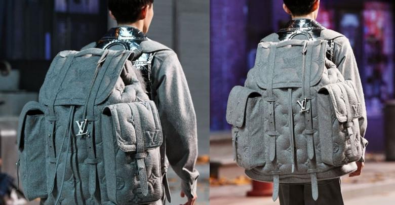 حقيبة عملاقة من لويس فيتون