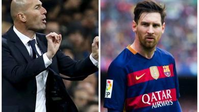 """صورة هل يُحقّق ريال مدريد """"المعجزة"""" بـ""""ميسي وزيزو""""؟"""