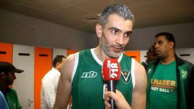 عبد الرزاق التركي لاعب فريق النصر لكرة السلة