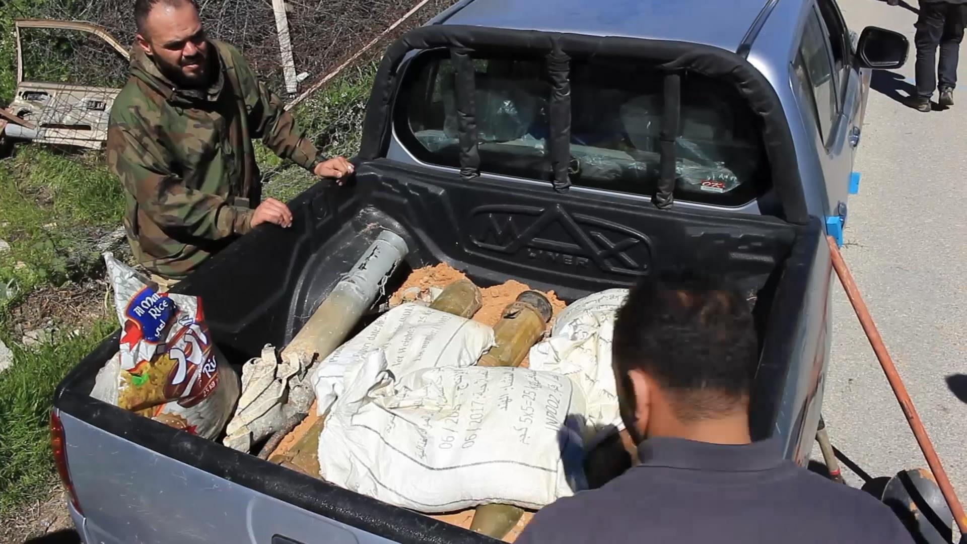فريق منظمة حقول حرة المختصة في أعمال نزع الألغام - يفرن