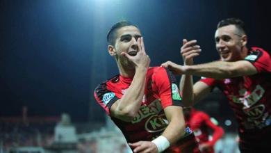 لاعب اتحاد العاصمة الجزائري مؤيد اللافي