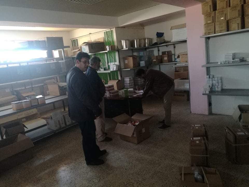 مدير إدارة التفتيش والمتابعة بوزارة صحة المؤقتة نوري الفسي