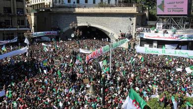 مظاهرات الجزائر - بوتفليقة