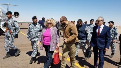 منسقة الشؤون الإنسانية ماريا ريبيريو في زيارة للجنوب