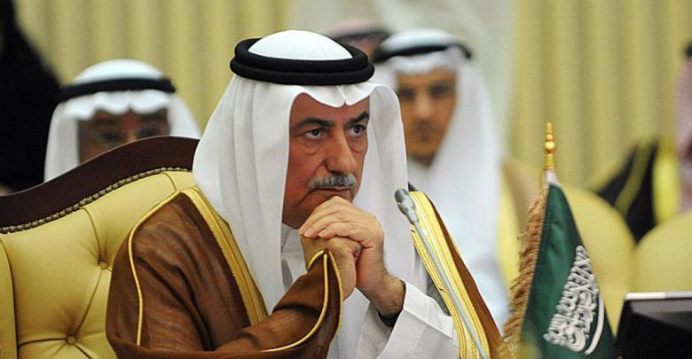 وزير الخارجية السعودي إبراهيم العساف