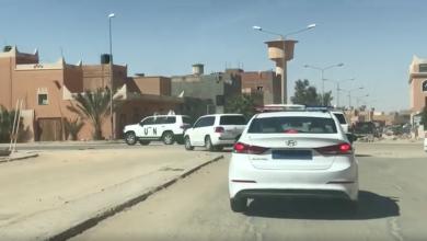 Photo of البعثة تدرس عقد الملتقى الجامع بغدامس