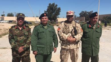 صورة الجيش الوطني في الزاوية