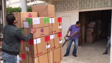 وصول شحنة أدوية لمركز طبرق الطبي مقدمة من منظمة الصحة العالمية