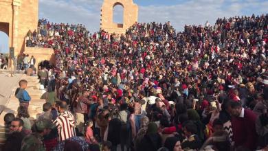 مسرح صبراتة الأثري يشهد حفلة كبرى للأطفال في عيدهم