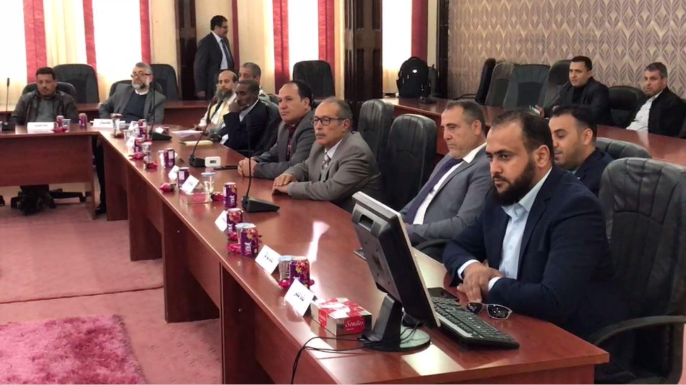 اجتماع النقابة العامة للصيادلة على مستوى ليبيا في المرج