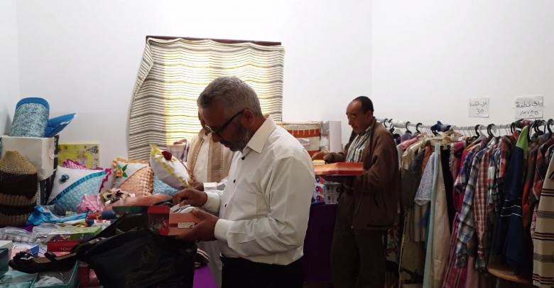 السوق الخيري في أوجلة تنظمه جمعية فاطة الزهراء