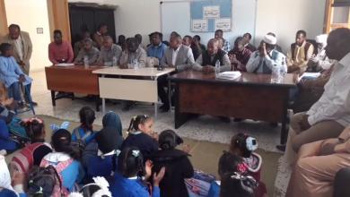 تكريم التلاميذ المتفوقين في مدرسة عقبة بوادي عتبة