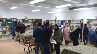 صورة غريان .. مكتبة جديدة بثانوية القدس
