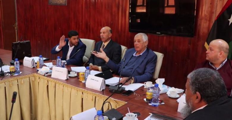 اجتماع في غدامس لقيادات الضمان الاجتماعي بالجبل الغربي