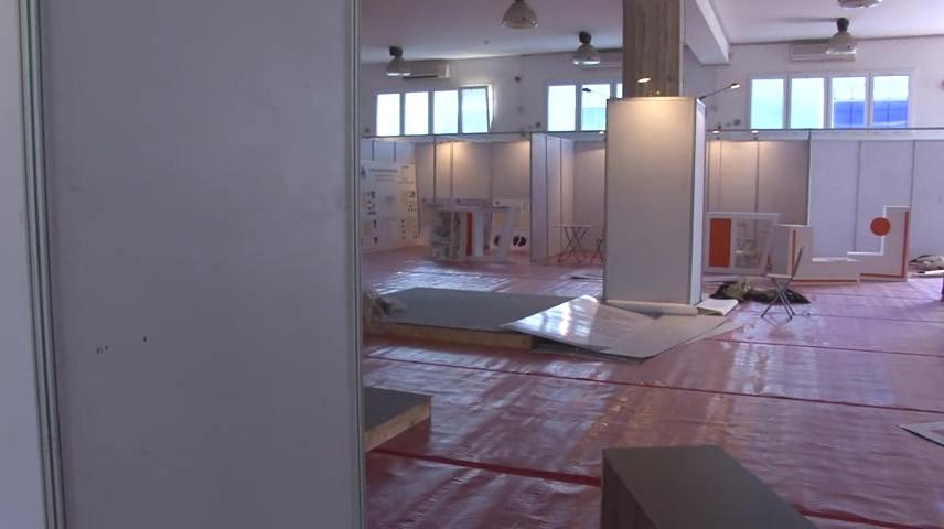تجهيزات معرض طرابلس الدولي - الرشيفية