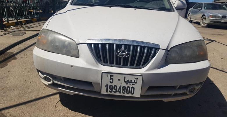 أمن الجفارة تضبط سيارات مسروقة بالسواني