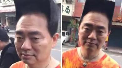صورة تسريحة شعره تجعله نجما (فيديو)