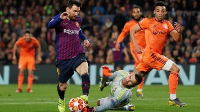 Photo of ميسي يقود برشلونة لربع نهائي الأبطال