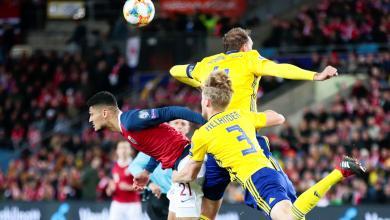 مباراة النرويج والسويد